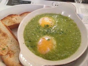 Green Shakshuka, at Jack's Wife Freda